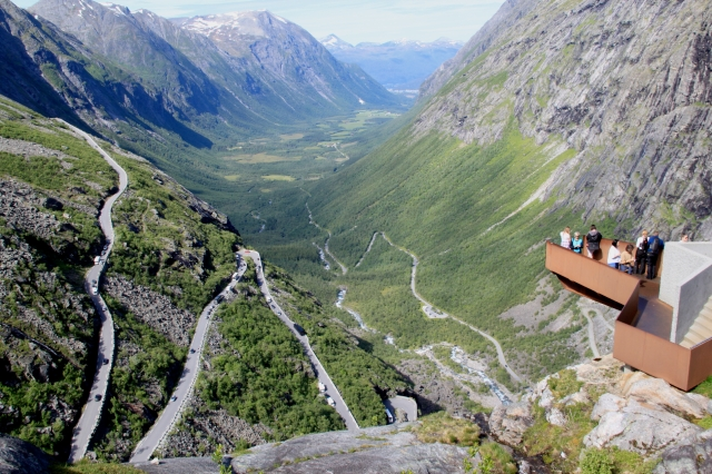 What can I say about the Trollstigen that hasn't already been said - it's just breathtaking!